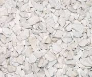 Marble chip crushed aggregate