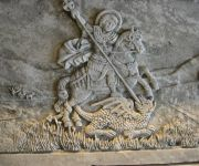Saint George Carving