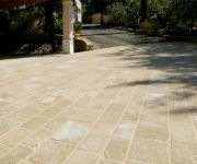 French Limestone Paving