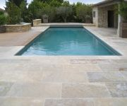 French Pool Coping and Paving